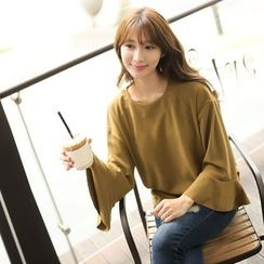 CLICK - Bell-Sleeve Top