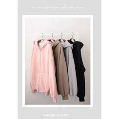 DEEPNY - Couple Brushed-Fleece Lined Hoodie