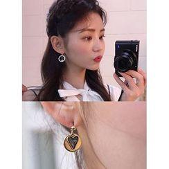 icecream12 - Non-Matching Dangle Earrings