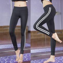 ORCA - Stripe Yoga Pants