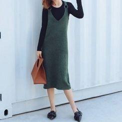 Romantica - 套装: 针织上衣 + 针织背心裙