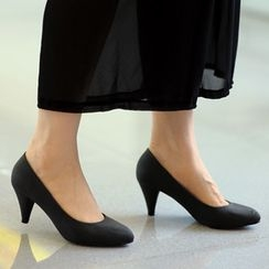 59th Street - Faux Leather Pumps