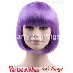 Party Wigs - PartyBobWigs - Party Short Bob Wigs - Purple