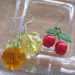 Fit-to-Kill - Lovely Cherry and Oranges Earrings