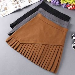 City of Dawn - Pleated Skirt