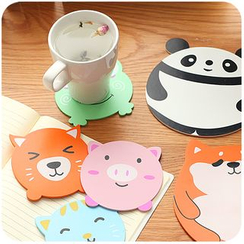 Momoi - Animal Heat Resistant Coaster / Cup Mat