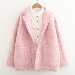 ninna nanna - Knit Lapel Coat