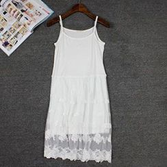 LaRos - Lace Panel Slipdress