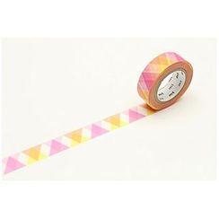 mt - mt Masking Tape : mt 1P Triangle & Diamond Pink