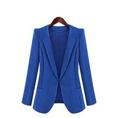GRACI - 純色西裝外套