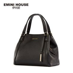Emini House - Two Way Genuine Leather Shoulder Bag