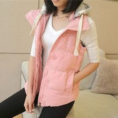 Heybabe - Hooded Padded Vest