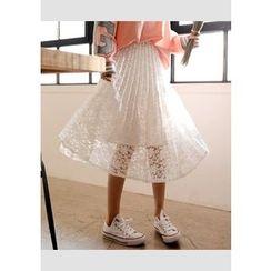 DEEPNY - Lace Long Skirt