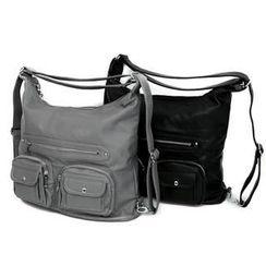 REDOPIN - Zipper-Trim Shoulder Bag