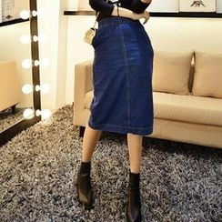 Jack Grace - Denim Long Skirt