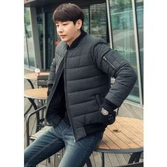 GERIO - Padded Wool Jacket