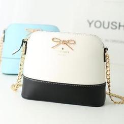 Youshine - Bow Accent Crossbody Bag