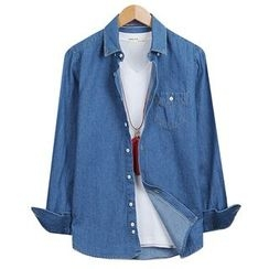 Seoul Homme - Washed Denim Shirt