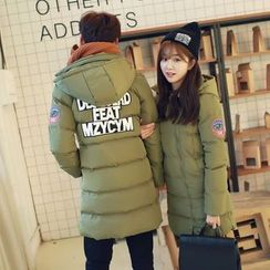 INUS - Couple Matching Long Padded Coat