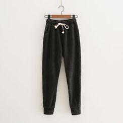 PP家 - 抽绳运动裤