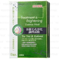 Dr. Morita - Treatment & Brightening Essence Mask (Tea Tree & Kakorot)