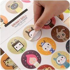 VANDO - Sticker 18 pcs