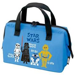 Skater - Star War Lunch Bag M (Blue)