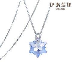 伊泰蓮娜 - 施華洛世奇元素水晶星星項鍊