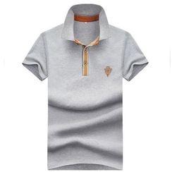 Bingham - 配色邊短袖馬球衫