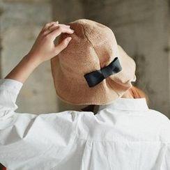 GOROKE - Bow-Trim Bucket Hat