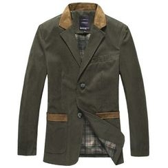 RUYA - Notched-Lapel Buttoned Coat