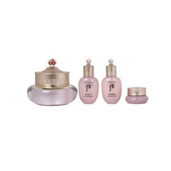 The History of Whoo - Gongjinhyang Soo Soo Yeon Cream Special Set: Cream + Balancer + Lotion + Jin Cream
