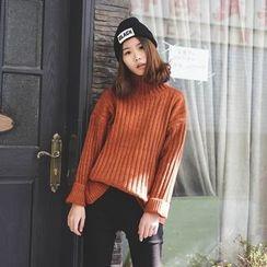 Polaris - High Neck Sweater