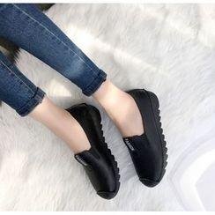 Wello - 字母貼布繡輕便鞋