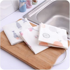 Good Living - Printed Dish Cloth