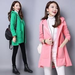 Yeeya - Hooded Zip Coat