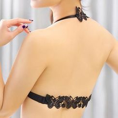 Croix - Crochet Butterfly Halter Bra