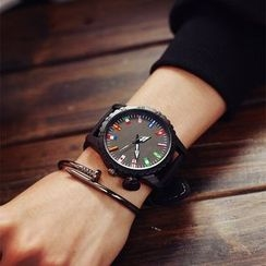 HM - National Flag Print Strap Watch