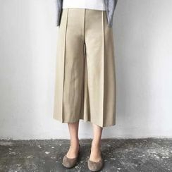 P.E.I. Girl - Cropped Wide Leg Pants