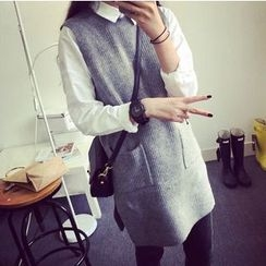 Everose - Sleeveless Knit Tunic