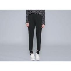 Envy Look - Flat-Front Straight-Cut Pants