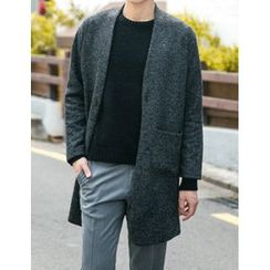 STYLEMAN - Single-Breast Knit Coat