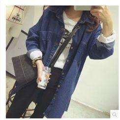 MePanda - Longline Denim Jacket