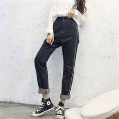 Dream Bear - Cropped Jeans