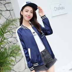 Pipafellow - Embroidered Baseball Jacket