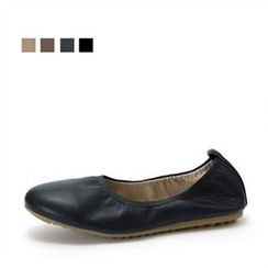MODELSIS - Genuine-Leather Flats
