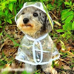 Pet Sweetie - Pet Transparent Raincoat