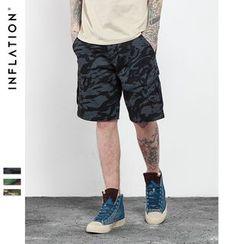 Newin - Camo Shorts