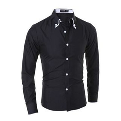 Hansel - Contrast Button Shirt