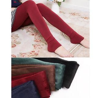 Cotton Dream - Fleece-Lined Leggings